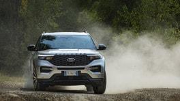 Guidare elettrificato: Ford Explorer 3.0 PHEV, test su strada