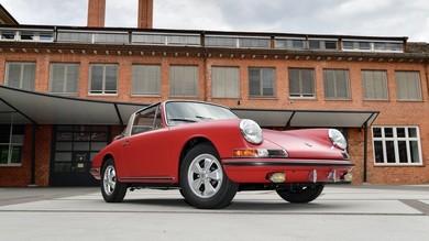 Porsche 911 S Targa, modello del 1967 rinasce a nuova vita