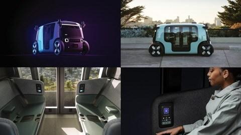 Zoox, la startup di Amazon presenta il suo primo robotaxi a guida autonoma