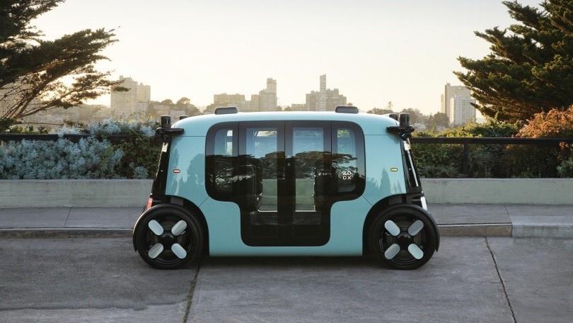 Zoox, il robotaxi della startup di Amazon è realtà
