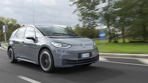 Test drive Volkswagen ID.3, grande maneggevolezza
