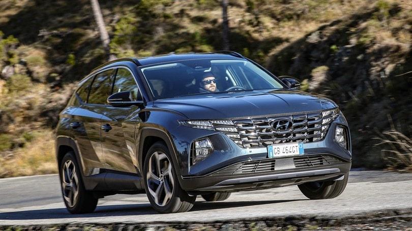Hyundai Tucson Hybrid, 230 cavalli di souplesse