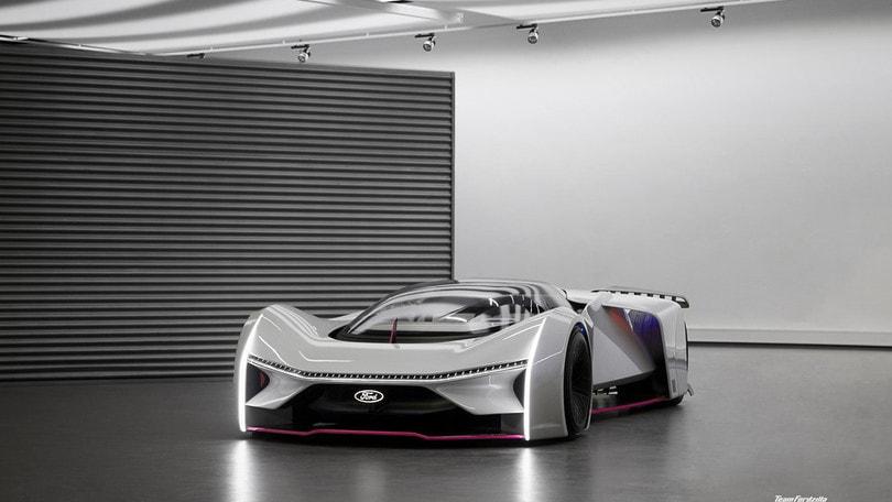 Fordzilla P1, l'auto da corsa Ford per i videogiochi