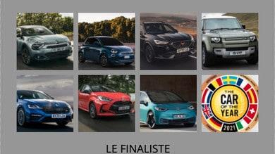 Car Of The Year 2021, nominate le sette finaliste