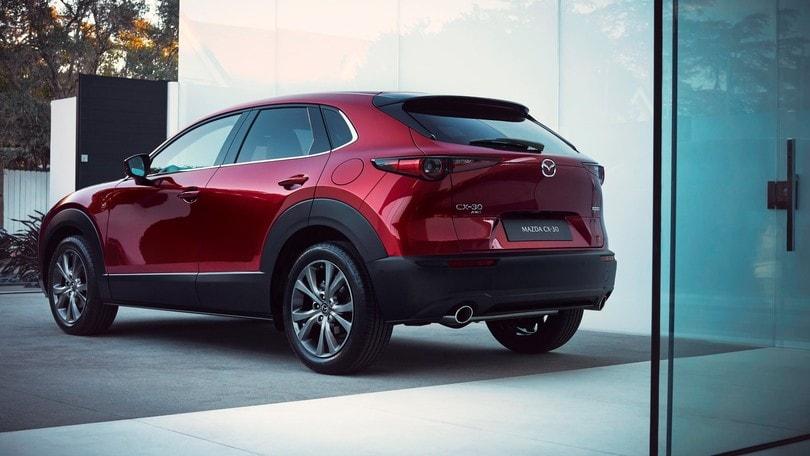 Mazda CX-30 2021, evoluzione continua