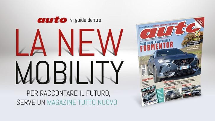 Auto, il nuovo numero vi aspetta in edicola dal 16 gennaio