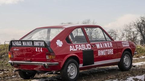Alfa Romeo Alfasud Bimotore Wainer, pezzo unico all'asta