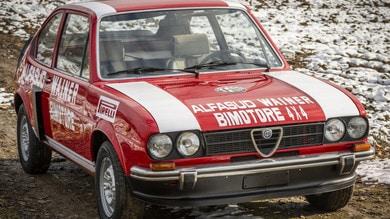 Alfa Romeo Alfasud Ti Bimotore Wainer, rarità all'asta