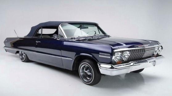Kobe Bryant, in vendita la sua Chevrolet Impala del 1963