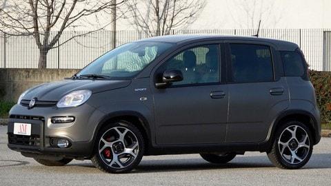 Fiat Panda 1.0 Hybrid, la prova