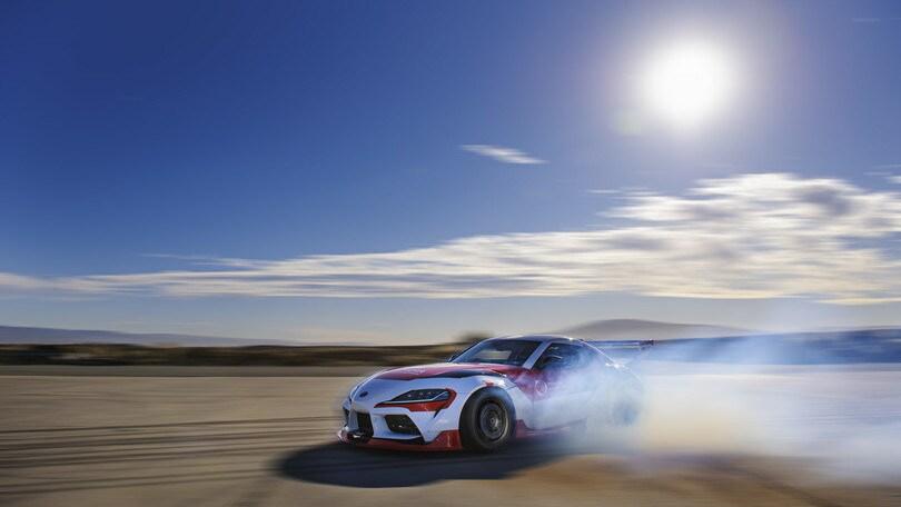 Toyota studia il drifting per aumentare la sicurezza in auto