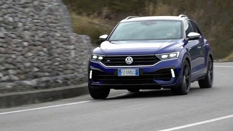 Volkswagen T-Roc R, la prova su strada