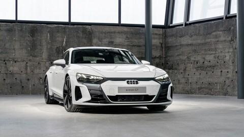 Audi e-tron GT, prima sportiva elettrica dei Quattro Anelli
