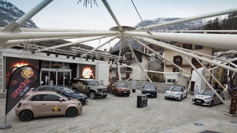 Car of the Year 2021, il test drive a Courmayeur