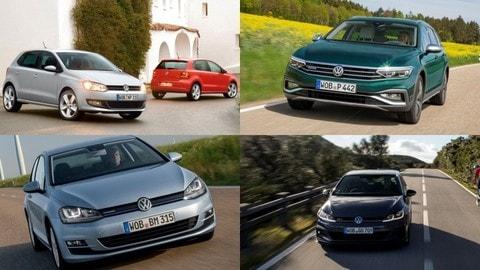 Car of the Year, tutte le Volkswagen che hanno vinto