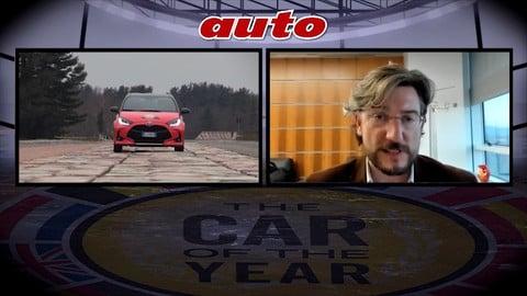 Car of the Year 2021, l'intevista all'ad Toyota Italia Luigi Lucà