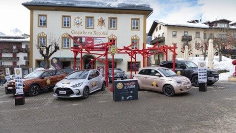 Car of the year 2021, la prova a Cortina