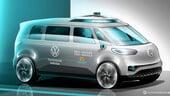 ID.Buzz sarà la prima Volkswagen a guida totalmente autonoma