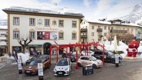 Car of the Year 2021, la prova con i nostri lettori a Cortina