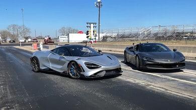 Ferrari vs McLaren, la rivincita: SF90 Stradale sfida la 765LT