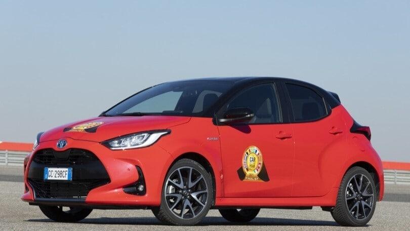 Nuova Toyota Yaris è Car of the Year 2021
