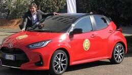 Toyota festeggia la Yaris, Car of the Year 2021