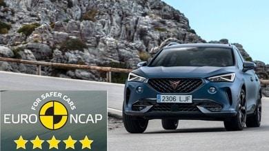 Cupra Formentor: debutto a cinque stelle nei test Euro NCAP