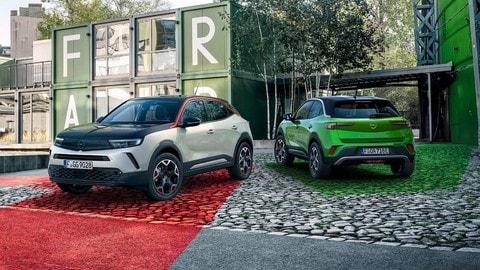 Opel Mokka, benzina vs elettrico