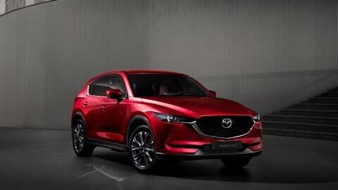 Mazda CX-5 2021, prova su strada