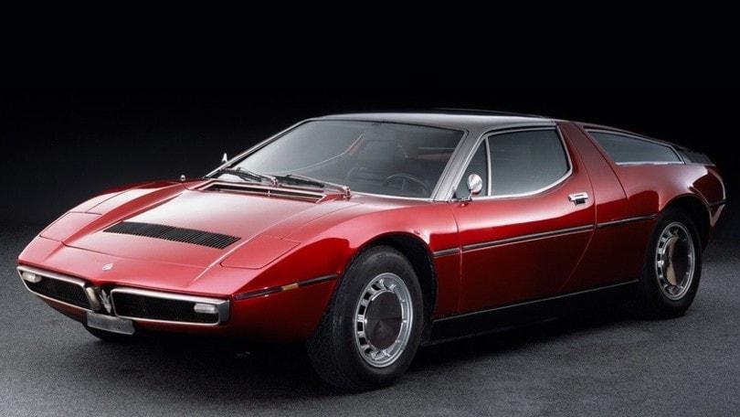 Maserati Bora, 50 anni veloce come il vento