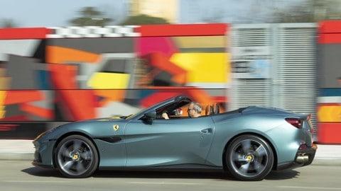 Ferrari Portofino M, la prova