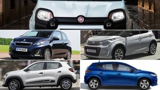 Top 5 auto per neopatentati: fascia 10.000€