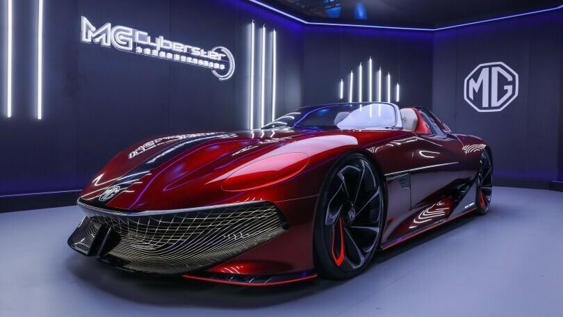 MG Cyberster: svelato a Shangai il nuovo concept sportivo