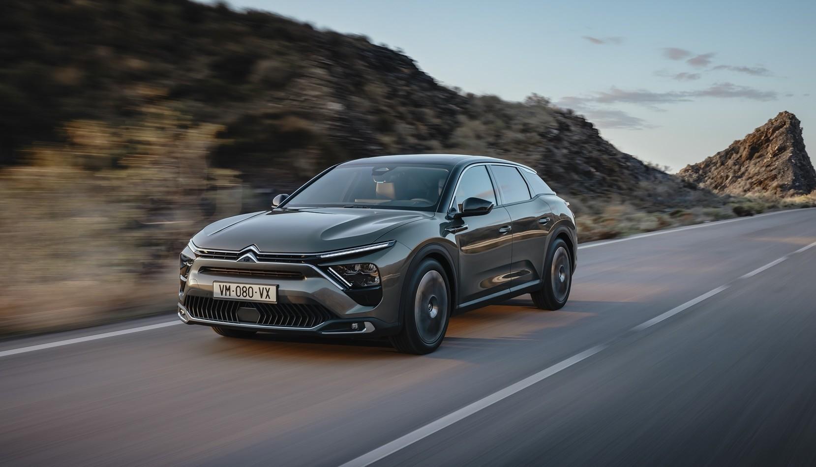 Nuova Citroën C5 X, ammiraglia à la francese