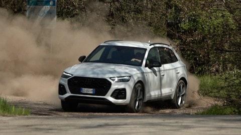 Audi Q5 40 TDI, la prova su strada