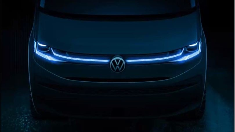 Volkswagen Multivan T7 presenta il design del frontale
