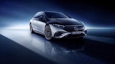 Mercedes EQS, lusso elettrico