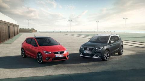 Seat Ibiza e Arona, le versioni restyling viste dal vivo