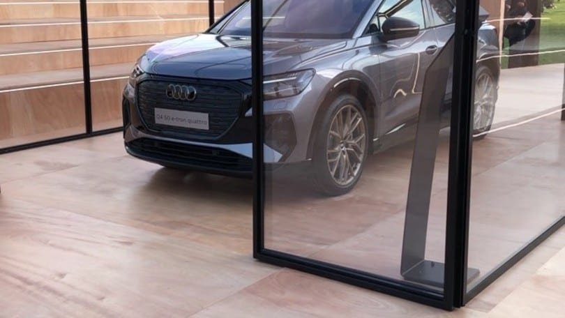 Audi Q4 e-tron, primo contatto