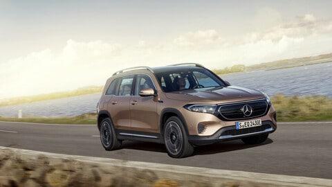 Mercedes EQB, il Suv elettrico compatto