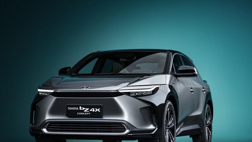 Toyota bZ4X Concept, la prima elettrica delle Tre Ellissi