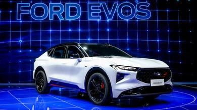 Ford Evos, crossover secondo i canoni cinesi al Salone di Shanghai