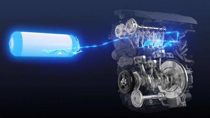Toyota sperimenta il motore a combustione a idrogeno