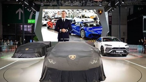 Lamborghini al Salone di Shanghai 2021, le anteprime