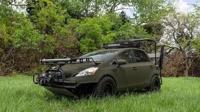 Toyota Prius da caccia, il tuning di Starwood Customs