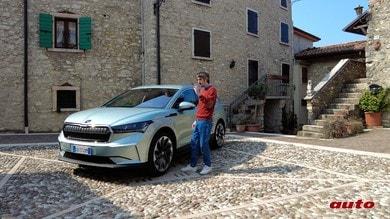 Skoda Enyaq, il nemico in casa di Volkswagen: la prova su strada