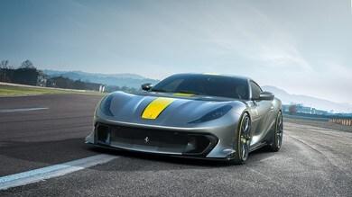 Ferrari 812 Competizione, tecnica maiuscola su V12 e aerodinamica