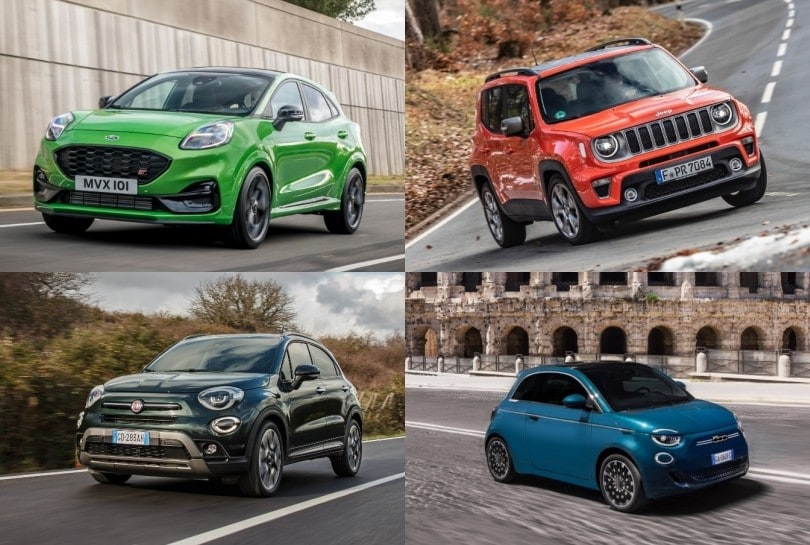 Top 10, ecco le auto più vendute in Italia ad aprile 2021
