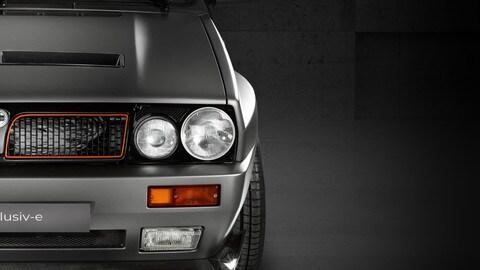 Lancia Delta Integrale elettrica by GCK Exlusiv-e FOTO