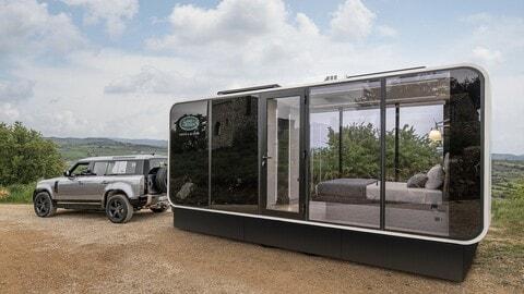 Land Rover, ecco la Defender Eco Home